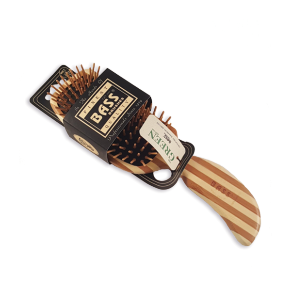 Bass curved shaped brush