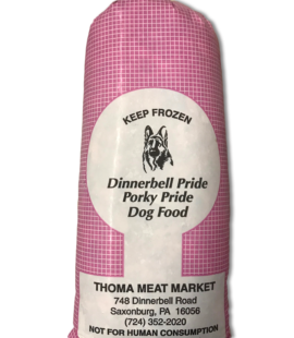 Thoma raw porky pride dog food